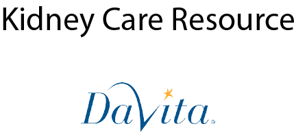 DeVita Kidney Care Resource link
