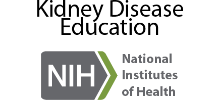 National Institute of Health Kidney Disease Education link